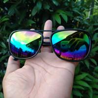 Kacamata Pria Steampunk Tony Stark Sunglasses retro fashion