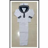 kostum karnaval baju pelaut anak
