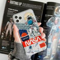 NASA ASTRONAUT SOFT CASE SILIKON iPhone 7 8 Plus SE20 X 11 Pro Promax