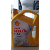 Oli Mobil Shell Helix HX6 10W-40 4 liter Original