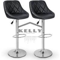 kursi bar sandaran/bar stool/bangku cafe/kursi tinggi/kursi cafe