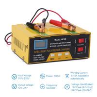 charger aki accu baterai lead acid12/24V otomatis-cas aki mobil smart