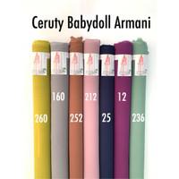 Kain Ceruti Baby Doll 1 Roll - Bahan Ceruty Babydoll Armani Premium