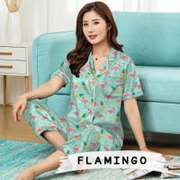 Monalisa Piyama cantik murah CP - Flaminggo