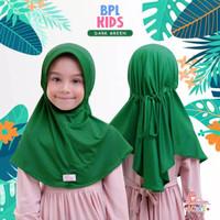 Miulan jilbab anak 2-6th   kerudung anak   Bpl kids M   hijau series
