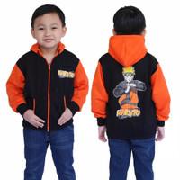 Jaket anak laki laki usia 2-10 thn/jaket anak motif kartun naruto