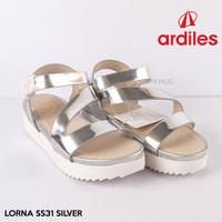 SANDAL Fashion WANITA ARDILES ORIGINAL - LORNA SS31 Silver