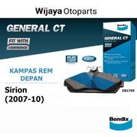 Kampas Rem Depan Brake Pad Sirion (2007 - 2010) Bendix