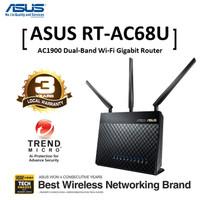 ASUS Router RT AC68U Wireless AC1900 DualBand Gigabit