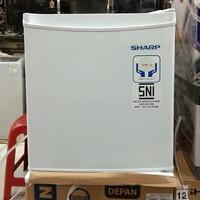 Kulkas Mini Portable Sharp SJ-50MB-XW