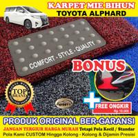 Karpet Mobil Mie Bihun ALPHARD Full Bagasi - Bahan 1 Warna