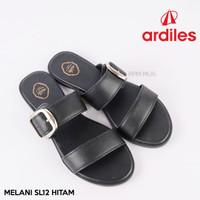 Sandal WANITA Fashion Casual Ardiles Melani SL 12 Hitam ORIGINAL
