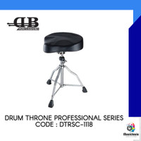 Bangku Drum Profesional DB percussion DTRSC-1118 / DTR SC1118 Bicycle