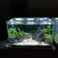 SOLD Aquarium Full Set Aquascape 40 U
