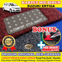 Karpet Mobil Mie Bihun ERTIGA Non Bagasi - Bahan 1 Warna