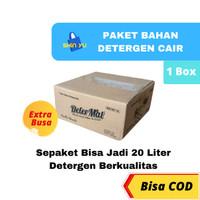 Bahan Detergen Cair DETERMAT EXTRA BUSA Ramah Di Tangan Hemat