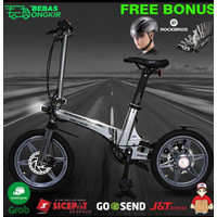 Ebike Sepeda Lipat Listrik The One - Song Of Youth 5.2AH not Xiaomi