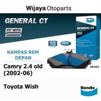 Kampas Rem Depan Brake Pad Toyota Camry 2.4 Old (02-06) / Wish Bendix