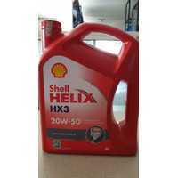 Oli Shell Helix HX3 20W-50 4 liter Original