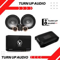 PAKET AUDIO MOBIL VENOM FULL SOUND SYSTEM SUBWOOFER+SPLIT+PROCESSOR