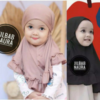 Kerudung NAURA kerudung bayi jilbab bayi kerudung anak perempuan hijab