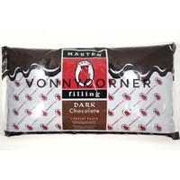 TULIP DARK CHOCOLATE MASTER FILLING SELAI COKELAT PASTA REPACK 500 GRM