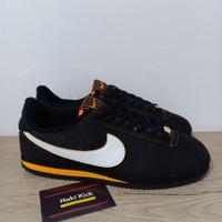 Sepatu Nike Cortez Day of the Dead Black White Orange
