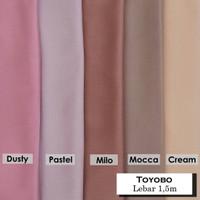 TERMURAH!!! bahan kain katun Toyobo fodu bahan kemeja gamis seragam