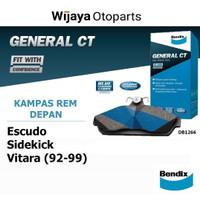 Kampas Rem Depan Brake Pad Escudo Sidekick / Suzuki Vitara Bendix