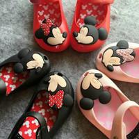 Star Anugerah (COD)Sepatu Anak Perempuan FlatShoes Jelly MICKEYMINNIE