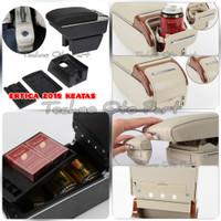 Armrest Console Box Suzuki Ertiga 2018+ Dual Layer 7 Usb + Led Light