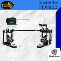 Double Pedal Tamburo FDP600 with Case / FDP-600 kick Pedal Original