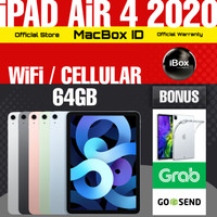 Apple iPad AiR 4 2020 WiFi Cellular 64 GB 64GB Gray Black Resmi iBox