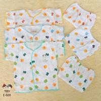 setelan baju bayi newborn shankusen murah per3pcs