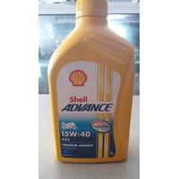 Oli Motor Shell Advance AX5 4T 15w-40 1 liter Original