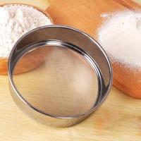 saringan tepung gula halus stainless steel/ ayakan tepung gula halus