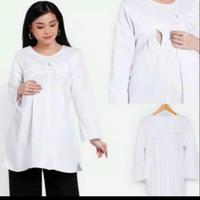 Baju Hamil Atasan Hamil Putih