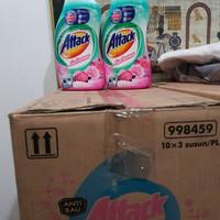 Attack with softener matic liquid deterjen cair 1 liter 1000 ml botol
