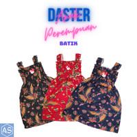 Daster Yukensi Dress Anak Perempuan Motif Batik 1-6 Tahun Singlet - Hitam, Kecil 1-2 Tahun