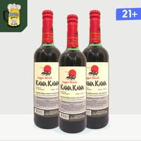 Kawa Kawa Anggur Merah Manis 19.8% 600 ml - Saingan Amer Orang Tua
