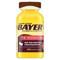 Bayer Aspirin Pain Reliever 325mg - isi 500 tab ORIGINAL