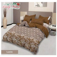 Bed Cover Set Rumbai Lady Rose King 180x200 Luxio