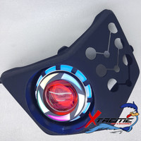 Reflektor Lampu Projie Proji Ninja RR New Fairing Barong Batok