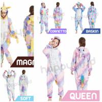 Kostum unicorn ice cream / baju tidur anak / jumpsuit anak