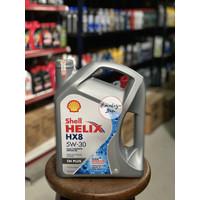 Oli Mesin Shell Helix HX 8 5W 30 SN Plus Full Synthetic (4 Liter)