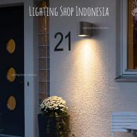 H290 / H292 Lampu dinding taman piral minimalis outdoor waterproof