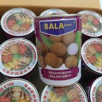 BALA brand Longan Kaleng 565 g /Buah Longan Kaleng