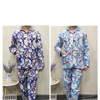Baju tidur JUMBO wanita(PP)piyama motif doraemon