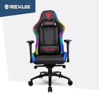 Rexus RGC-103 RGB Gaming Chair Kursi Bangku Game for Gamer