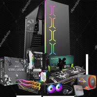 Pc Gaming Ryzen 7 3700X/RTX 2060 Super/Cooler Liquid MSI/256Gb SSD M.2